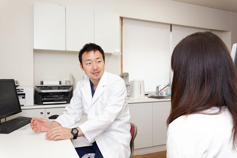 専門知識を生かした診療と丁寧な説明